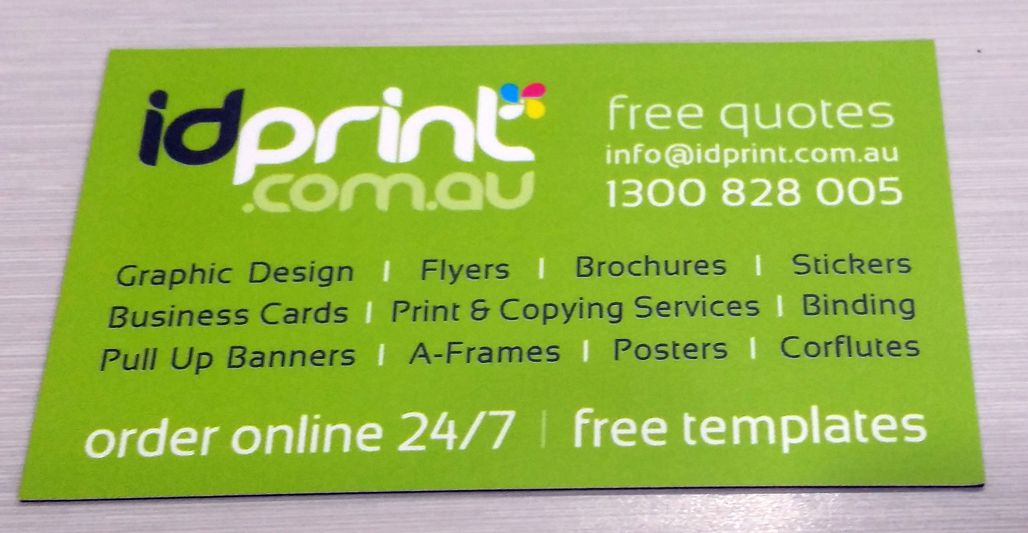 fridge magnets sunshine coast business card and dl