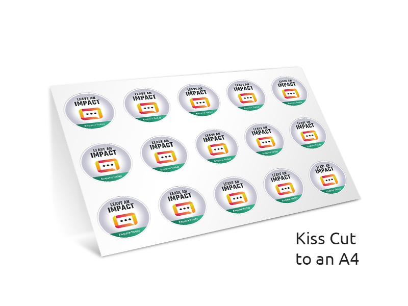 Stickers SAV 3 year Monomeric Gloss less than 200mm kiss cut