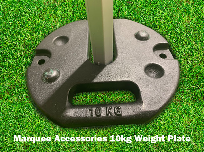 Marquee Hardware Accessories  Weight Metal on Gazebo