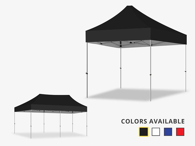 Marquee Gazebo Black Canopy