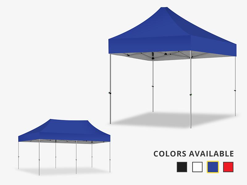 Marquee Gazebo Blue Canopy