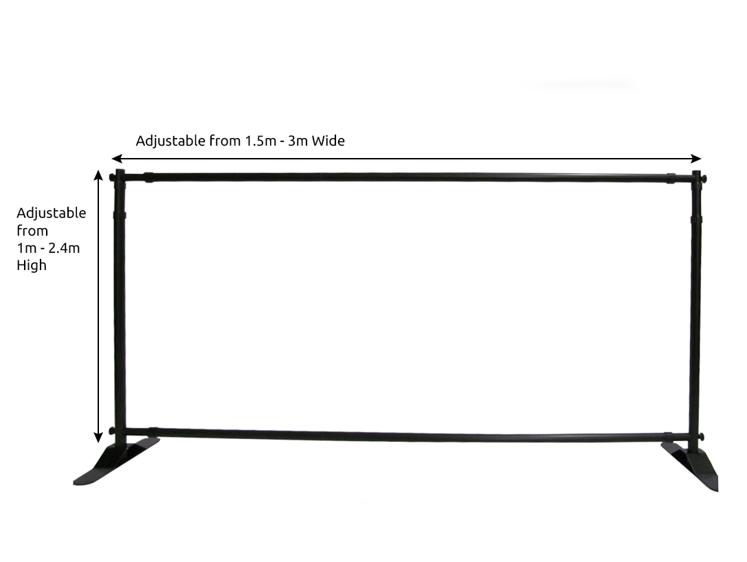 Media Wall adjustable dimensions