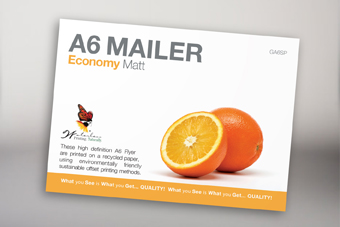 Economy Postcard with matt cello