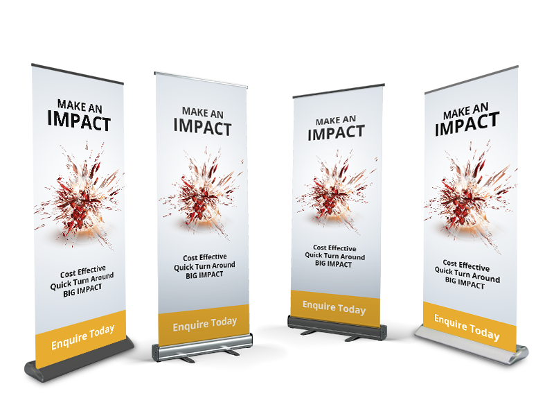 Pull Up Banners Sunshine Coast
